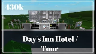 ROBLOX | Bloxburg | 430k Hotel Tour ( Day's Inn)