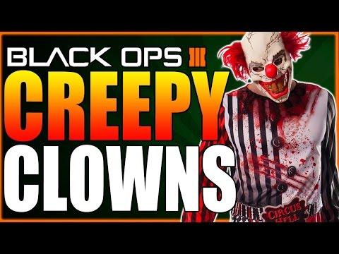 Creepy Clowns In Woods Terrorizing Children (COD BO3 Multiplayer)