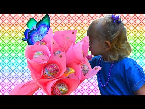 💐 Супер БУКЕТ из КИНДЕР СЮРПРИЗОВ Opening kinder surprise. 更甜的驚喜雞蛋. Kinder jaja.