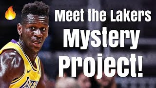 Meet the Los Angeles Lakers MYSTERY Project!   The Crazy Improvement of Isaac Bonga!