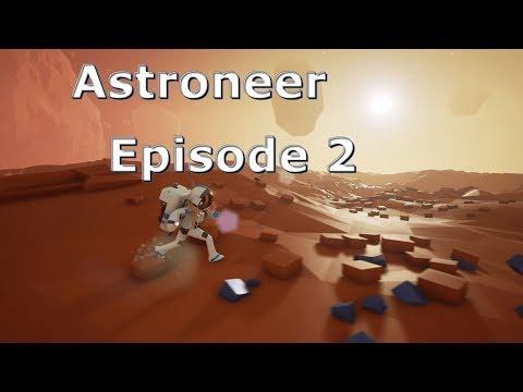 Astroneer Single player Season 1 Episode 2 Base upgrades and world exploration
