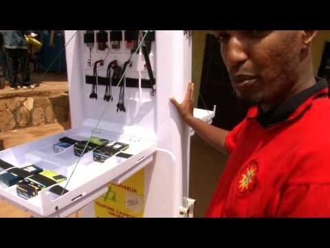 Smart Solar Kiosk Africa: poverty reduction with machine 2 machine technology.