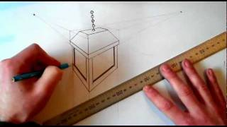 How to Draw a Lantern