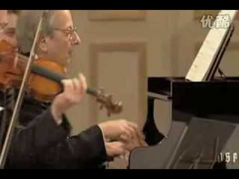 Mozart Piano Quartet KV 493: 3rd mov. Allegretto, Previn, Küchl..