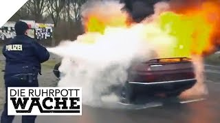 Brennendes Auto: Online-Date verschwunden | Die Ruhrpottwache | SAT.1 TV