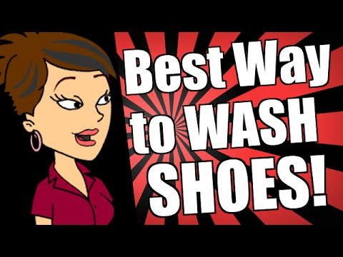 Best Way to Wash Shoes