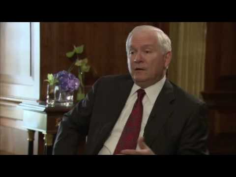 Robert Gates interview with David Frost Pt 1