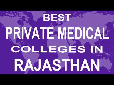 Best Private Medical Colleges In Rajasthan