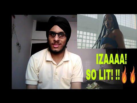 Indian Reacts To IZA - Pesadão (part. Marcelo Falcão)