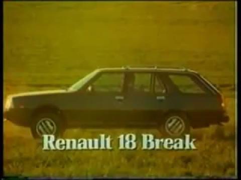 publicidad renault 18 break gtx argentina 1983 youtube. Black Bedroom Furniture Sets. Home Design Ideas