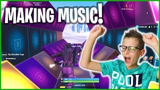Making Musical Intro in Fortnite!