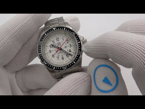Marathon New Release - 36mm White Dial Diver - The Arctic TSAR
