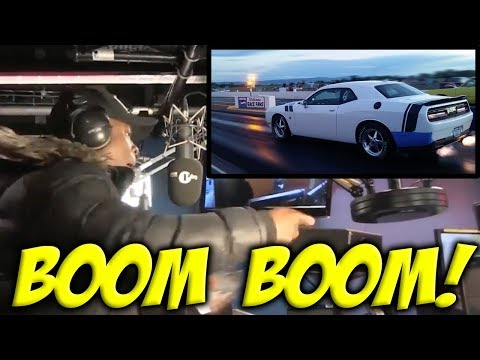 The Ting Goes POP POP BOOM Funny 2 Step Car Meme - Roadman Shaq MC