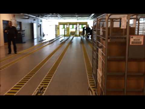 Herlev Hospitals fuldautomatiske varemodtagelse - Q-System