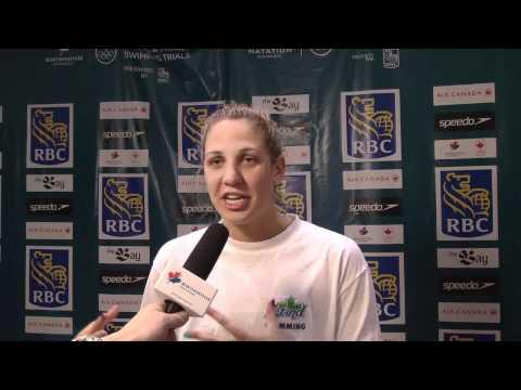 Alexa Komarnycky Post-Race Interview, Olympic Trials
