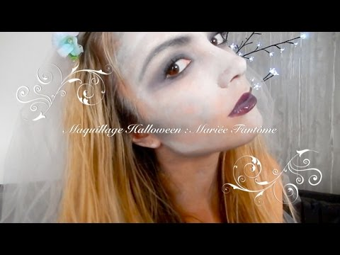 tuto maquillage halloween mari e fant me zombie youtube. Black Bedroom Furniture Sets. Home Design Ideas
