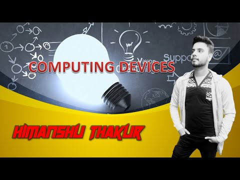 Computing Devices & Types of Computers by Himanshu Thakur