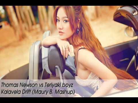 Thomas Newson & John dish vs Teriyaki Boyz - Kalavela Drift (Maury B. Mashup)