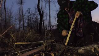 Ferro Rod Candle Lighting and 1 Stick Fire -12 Week Bushcraft  Challenge - Week 2