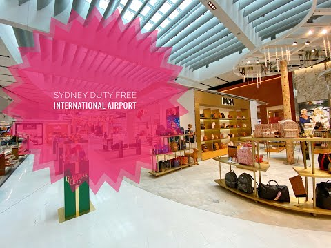 SYDNEY INTERNATIONAL AIRPORT | DUTY FREE