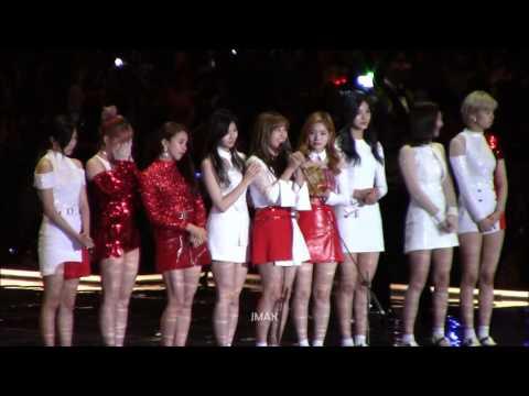 161202 MAMA award speech - song of the year - Twice (Cheer Up)