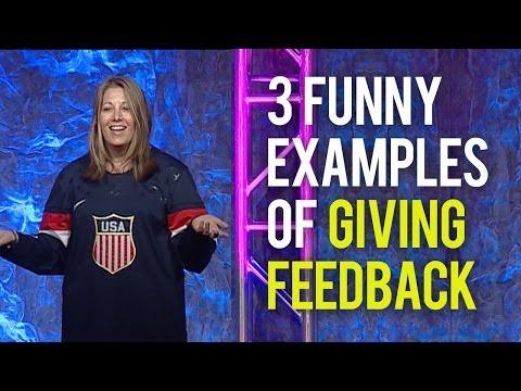Giving Feedback - 3 Funny Examples of Giving Employee Feedback
