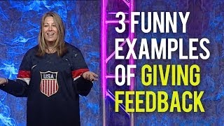 Giving Feedback - 3 Funny Examples of Giving Employee Feedback