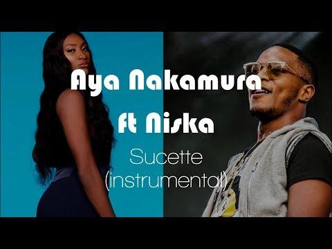 Aya Nakamura Ft Niska - Sucette (Instrumental / Karaoke + Lyrics)