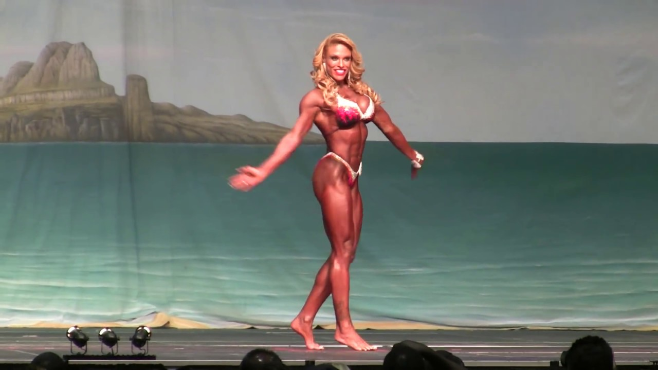 Patricia Mello IFBB Pro Women's Physique 2013 Europa Show of Champions