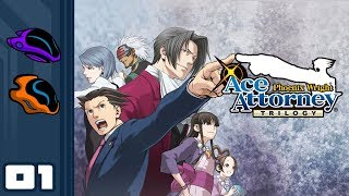 Let's Play The Phoenix Wright: Ace Attorney Trilogy - PC Gameplay Part 1 - The First Turnabout