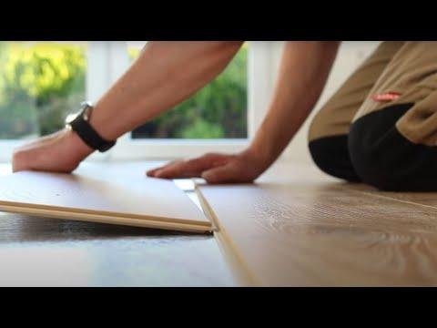 Parador Laminate Flooring Installation Youtube
