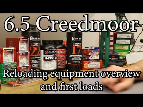 6.5 Creedmoor - Getting started with reloading