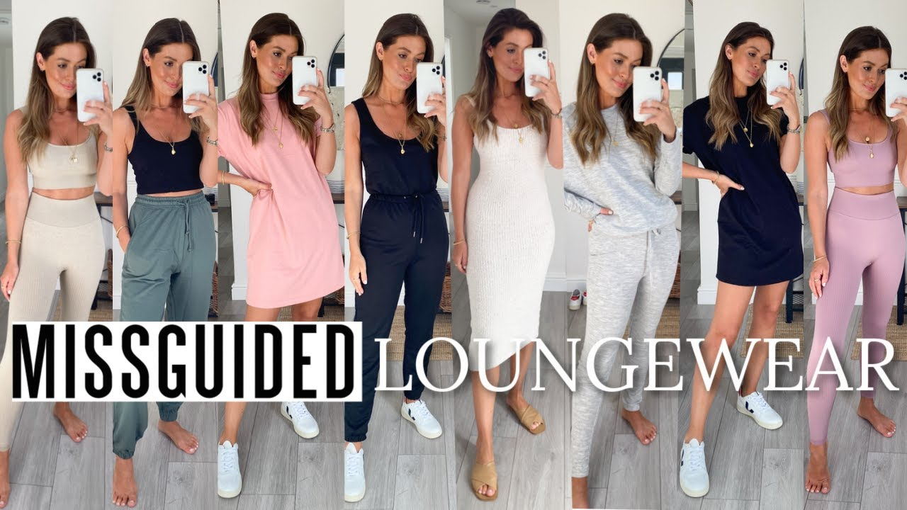 MISSGUIDED LOUNGEWEAR TRY ON HAUL | NEW IN AUGUST 2020 AD