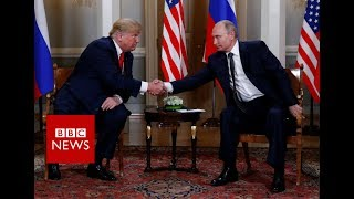 BREAKING NEWS: Trump and Putin meeting begins- BBC News