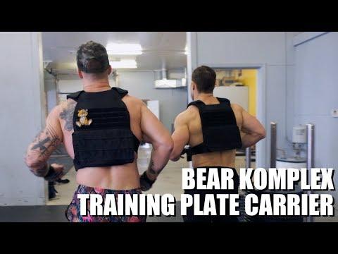 Bear KompleX Training Plate Carrier Vest