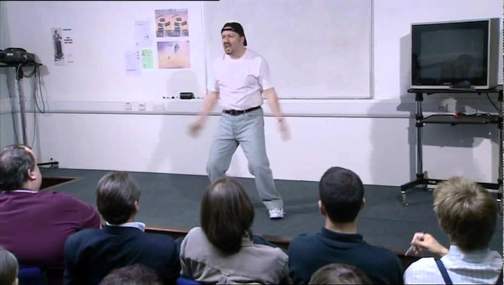 David brent motivational presentation business