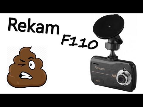 Видеорегистратор Rekam F110 Обзор 2019