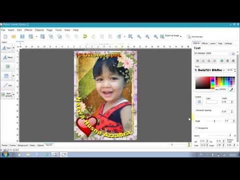 Photo Editing Software , Background, Frame, and Text.
