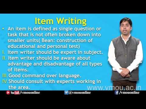 Steps of test Construction| Dr. Patanjali Mishra