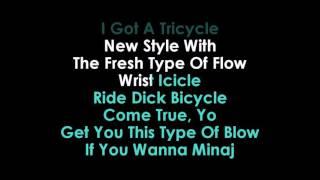 Side to Side karaoke Ariana Grande feat Nicki Minaj
