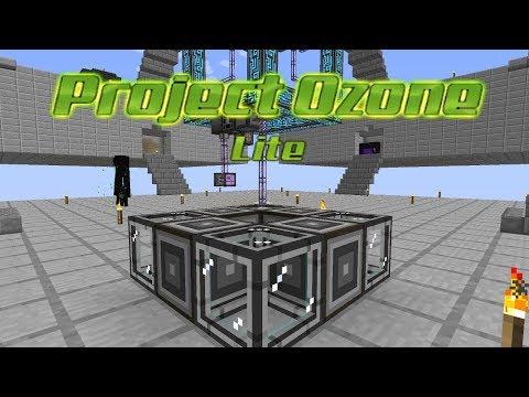 Project Ozone Lite - CONNECTIONS [E16] (HermitCraft Server Modded Minecraft Sky Block)