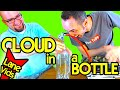 CLOUD IN A BOTTLE (LaneVids Science Experiment)