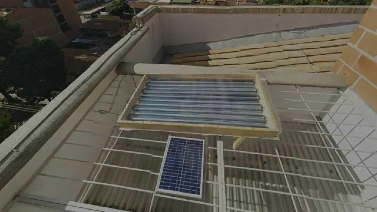 Calentador hibrido de agua solar gas hyibrid solar - Calentador de agua de gas ...