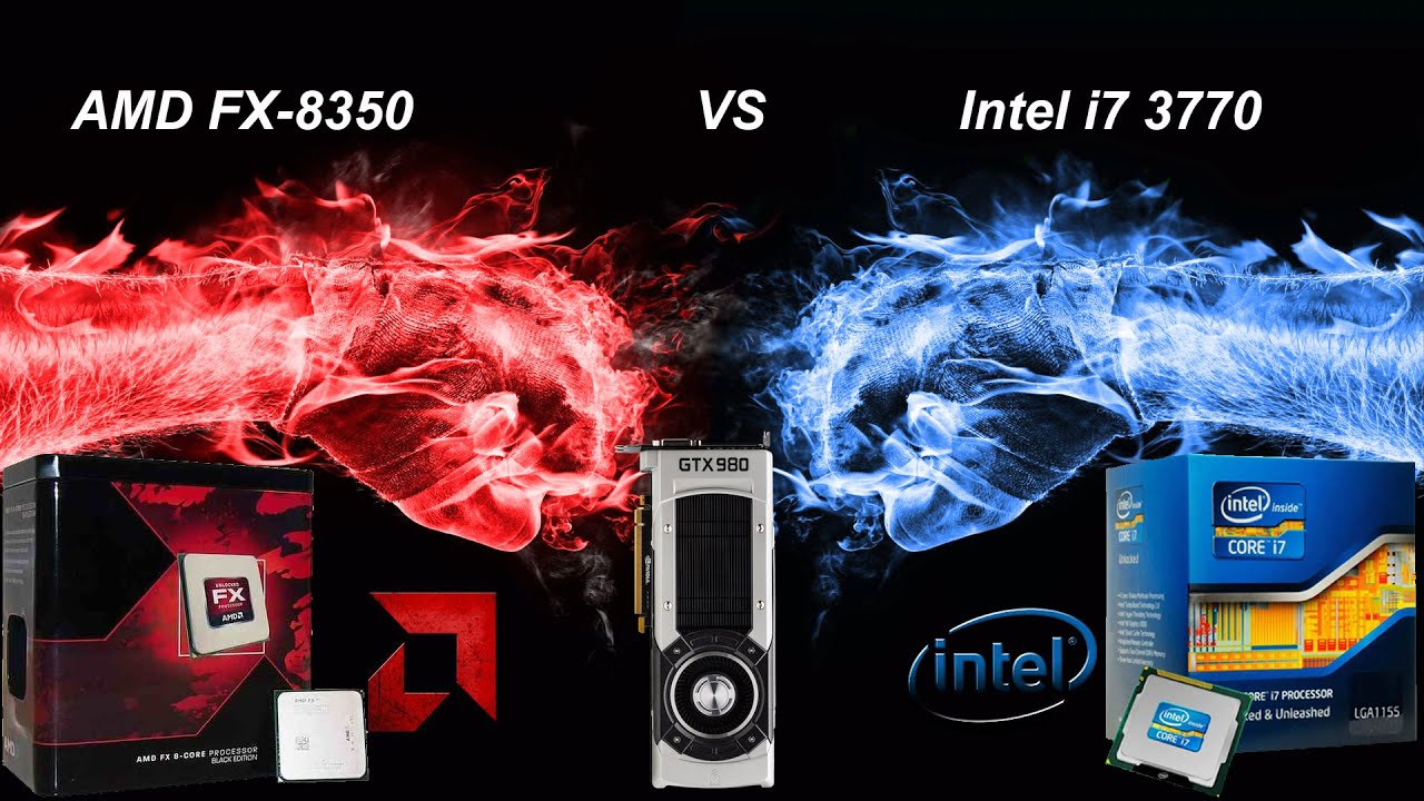 Amd Fx 8350 Vs Intel I7 3770 Performance Comparisson Youtube Prosesor 8370e Ampquotvisheraampquot