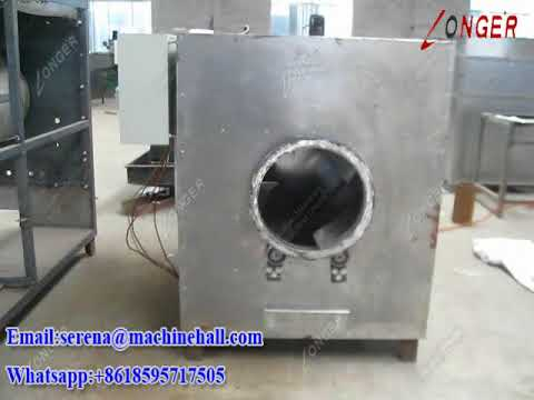 Gas Electric Heating Cocoa Bean Roaster Machine | Cacao Drying Cooling Equipment Price