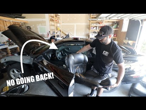 GUTTING my TRANS AM!! No Going Back!