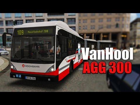 OMSI 2: Mit dem VAN HOOL DOPPELGELENKBUS AGG 300 in Hamburg auf der 109 #2: In der Bahn helfen?! |