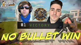 BOBBYPOFF & SPEROS DUO WIN - 0 BULLETS FIRED!!!