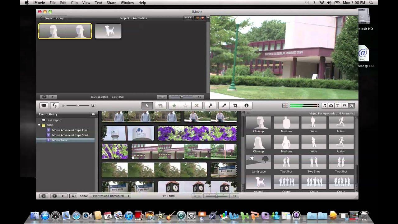 iMovie 11: Storyboarding - YouTube
