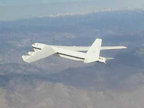 B-52H Flying over the Mojave Desert in California